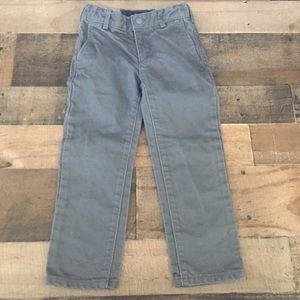 Jacadi Gray Khaki Chino Pants 104cm / 4 A